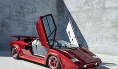 Ultra-Rare Lamborghini Countach Turbo.