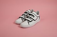 Raf Simons Velcro Sneakers, available at oki-ni.com. >> www.oki-ni.com/brands/raf-simons