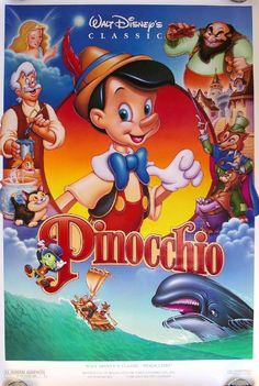 disney movie posters | Pinocchio Walt Disney Movie Poster 4 / iGossip