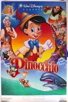 disney movie posters | Pinocchio Walt Disney Movie Poster 4 / iGossip