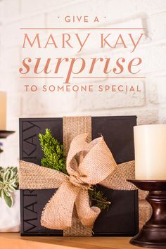 """There's nothing quite like a """"just because"""" gift. Surprise someone you love with a box full of beauty! 