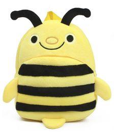 Baby lovely cartoon character bee school backpack #bag #toy #baby #bee