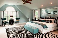 How to use zebra stripes in the modern interior design