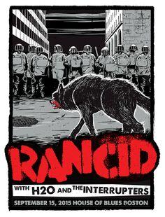 Rancid - Ernie Parada - 2015 ----