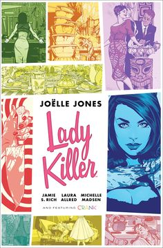 Lady Killer Deluxe Library Hardcover edition Horse Books, Best Comic Books, Penguin Random House, Fun Comics, Dark Horse, Comic Book Covers, Lady, Bestselling Author, World's Fair