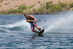 Wakeboarding on Lake Havasu... This= my summer