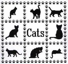 Cat Sampler (cross stitch)