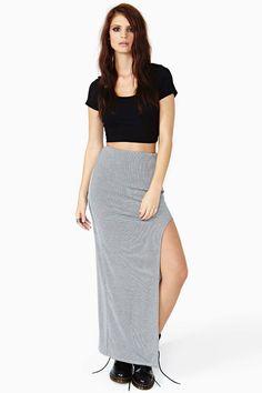 Highway Maxi Skirt - Stripe