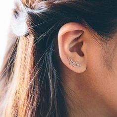Serotonin pin earrings.