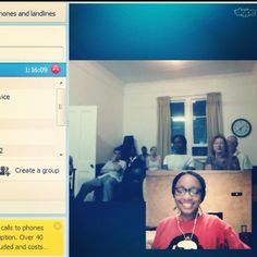 I gave a talk to a group in Pietermaritzburg yesterday, in Jive Media Africa's very first Science Spaza. I was in Bethal in Mpumalanga. We chatted on Skype. I was quite awesome :-)