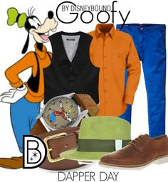 DisneyBounding as Goofy - by Leslie Kay