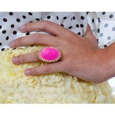 Neon Pink Ring $9.99  Only 1 left