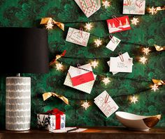 New Twists on the Holiday Card Display