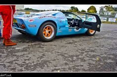 Ford GT 40 Gulf Livery