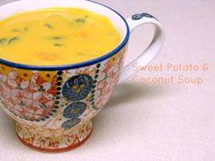 sweet potato and coconut soup (Paleo, AIP)