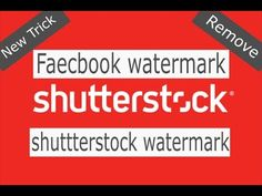 How to Download shutterstcok images without watermark