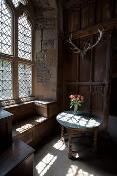 Haddon Hall by alh1, via Flickr
