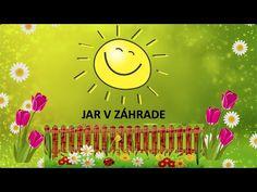 Jar v záhrade, časti rastlín | maminask :) - YouTube Spring Activities, Activities For Kids, Jar, Frame, Youtube, Carnavals, Picture Frame, Children Activities, Kid Activities