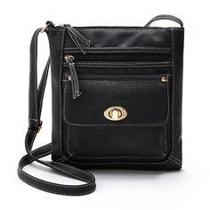 Versatile Women Messenger Bag Handbags Ladies PU Leather Bags Shoulder Bag Satchels Crossbody Bag Bolsas Feminina