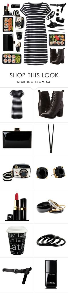 """organized"" by tinkertot ❤ liked on Polyvore featuring Jigsaw, Steve Madden, CB2, Betsey Johnson, Kate Spade, Chanel, H&M, Könitz, Furla and ASOS"