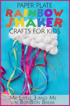 Rainbow Shaker Crafts for Kids