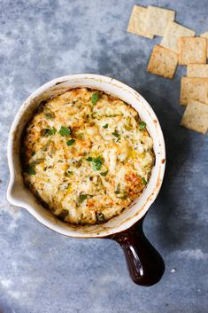 Hatch Green Chile Crab Dip - The Defined Dish - Recipes Appetizer Dips, Appetizer Recipes, Green Chile Stew, Crab Dip, Snacks Für Party, Football Food, Whole 30 Recipes, Food Dishes, Side Dishes
