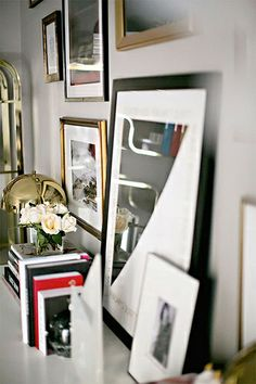 {décor inspiration | noir et blanc & happy march} by {this is glamorous}, via Flickr