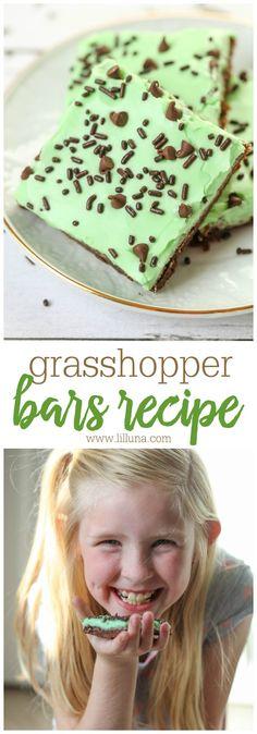 Grasshopper Bars - a