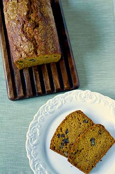 Pumpkin Bread by Brown Eyed Baker (made it last year and gave the 2nd loaf as a gift)