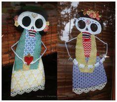 "Our  ""Dia de los Muertos"" decorations inspired by Ritxi Ostáriz' ""Viva Calaca"" animated video~Image © Christine Alvarado, 2014."