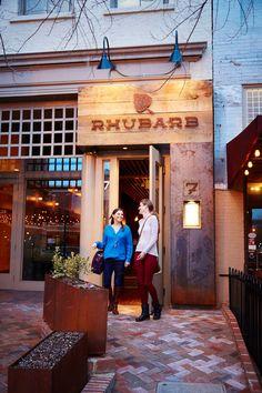 Rhubarb Restaurant Asheville North Carolina