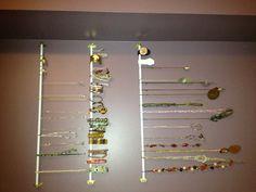 DIY Jewellery Organizer