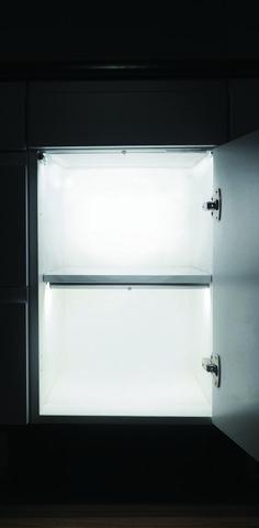 Introducing the NOVA range. Its lithium battery and PIR sensor will leave every corner lit. Battery Operated Lights, Battery Lights, Cabinet Lighting, Light Sensor, White Lead, Bathroom Medicine Cabinet, Nova, Corner, Range