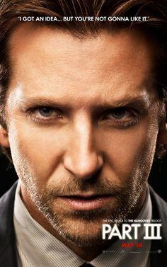 Nuevo póster de Bradley Cooper en ¿Qué pasó ayer? Parte III