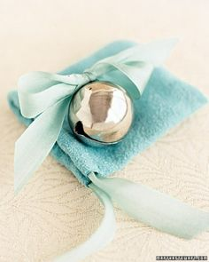 "See the ""Silver Bell Wedding Favors"" in our  gallery"