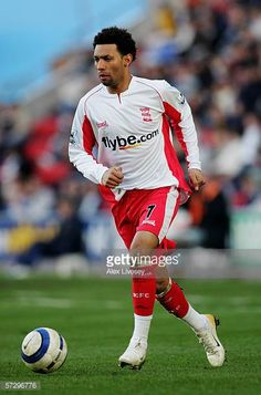Jermaine Pennant of Birmingham City in action during the Barclays Premiership match between Wigan Athletic and Birmingham City at The JJB Stadium on...