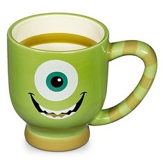 Disney Park Monsters Inc Mike Wazowski Ceramic Coffee Cup Mug New | eBay