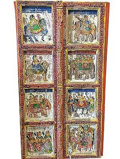 ANTIQUE-VINTAGE-DOOR-PANELS-ELEPHANTS-PAINTED-BARN-DOORS-18c-INDIAN-PRINCESS  http://stores.ebay.com/mogulgallery/ARCHITECTURALS-/_i.html?_fsub=353413619&_sid=3781319&_trksid=p4634.c0.m322