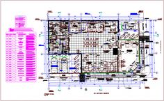 Bank office building architecture layout plan details dwg file - Cadbull Landscape Architecture Drawing, Architecture Quotes, Architecture Layout, Office Building Architecture, Modern Architecture House, Banks Office, Banks Building, Building Layout, Ace Hotel