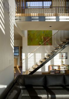 Exterior Design, Rustic Outdoor Furniture Single Stair Way For Sofas Dark Interior: Rustic Outdoor Furniture : Screen House by Randy Bens Ar...