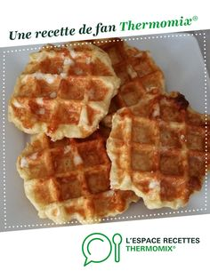 Waffle Bar, Sweet Cooking, Thermomix Desserts, Biscuit Cookies, Beignets, Biscotti, Waffles, Buffet, Brunch