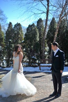 The bride and groom first look inspiration w/ Anthony Vazquez Photography