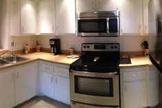 All Stainless Kitchen