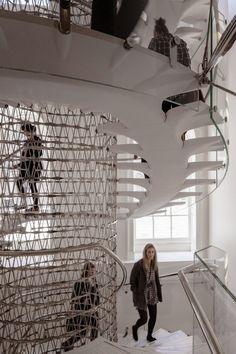 THE MILES STAIRS, SOMERSAET HOUSE_EVA JIRICNA ARCHITECTS | AIB Architecture_Obras