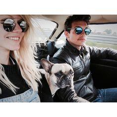 #RiccardoPozzoli Riccardo Pozzoli: Amazing Sunday with my Greek, French, Brit loves @nasiamylona #Matilda #triumph #spitfire #funday #sunday #carporn #bulldog