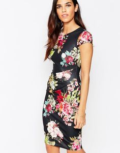 Jessica+Wright+Eden+Floral+Pencil+Dress