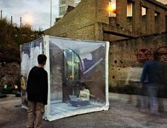 Portable buBbLe House Pops Up in a Snap    Read more: Portable buBbLe House Pops Up in a Snap | Inhabitat - Sustainable Design Innovation, Eco Architecture, Green Building