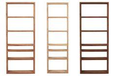 biblioteca de madera | diseño | moderna | minimalista