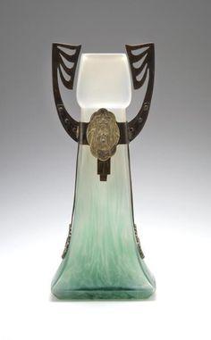 Bohemian Glass Vase, ca.1905.