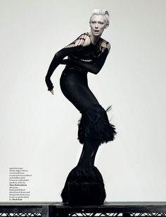Annika Pol: Model/Muse Tilda Swinton